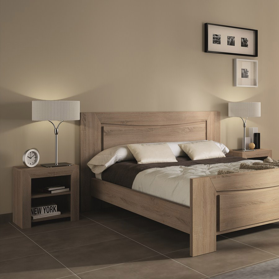 Couleur chambre adulte photo id es de d coration et de for Chambre complete adulte solde
