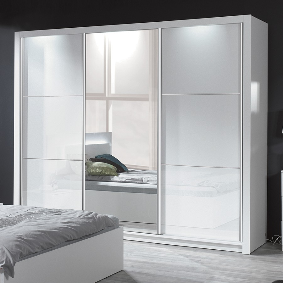 armoire design blanc. Black Bedroom Furniture Sets. Home Design Ideas