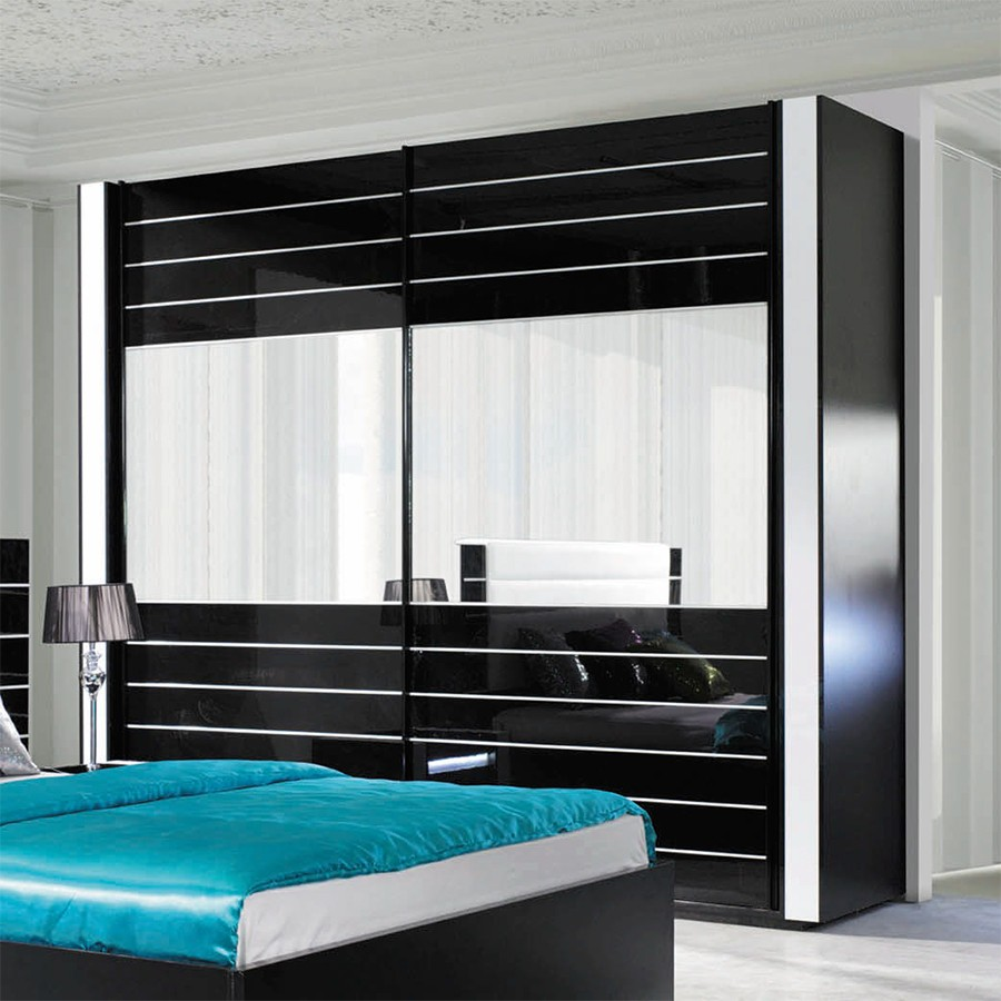 Emejing Armoire Chambre Adulte Porte Coulissante Pictures ...