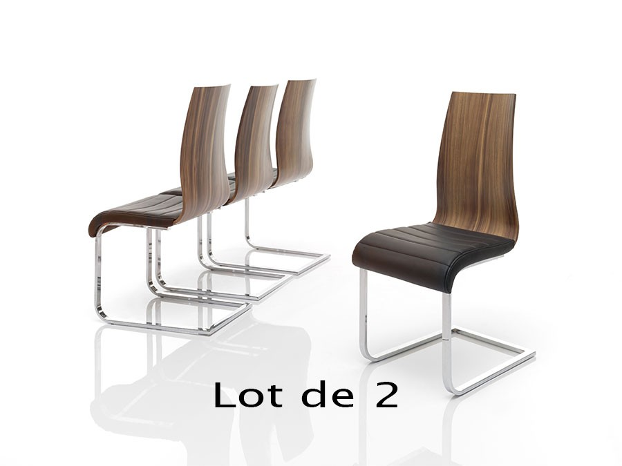 Chaise contemporaine doha zd1 c c b for Chaise de salle a manger contemporaine