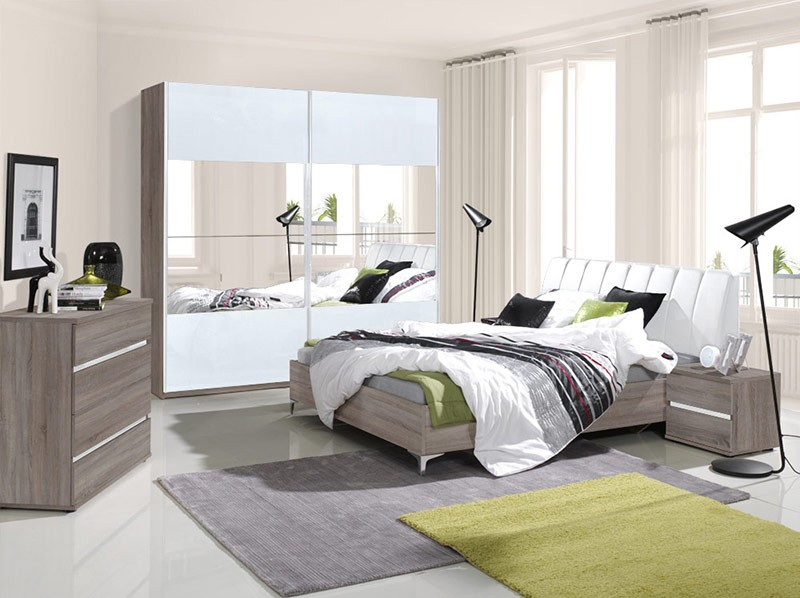 chambre adulte complete contemporaine clement zd1 ch a c c. Black Bedroom Furniture Sets. Home Design Ideas