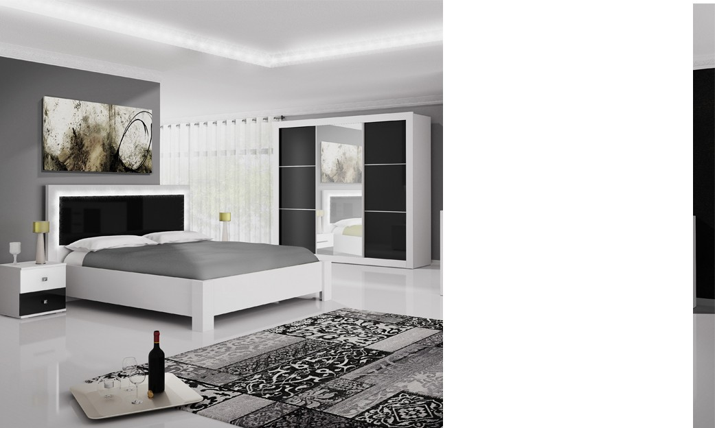 Chambres adultes completes design cheap cheap wonderful for Chambre complete adulte haut de gamme