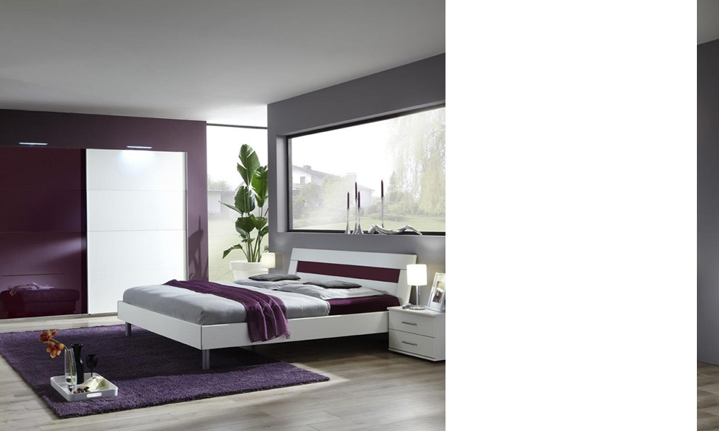 Eclairage chambre design for Chambre adulte complete design