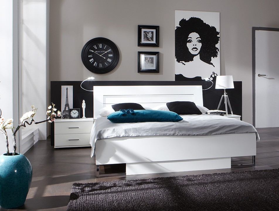 chambre design bleu adulte avec des id es. Black Bedroom Furniture Sets. Home Design Ideas
