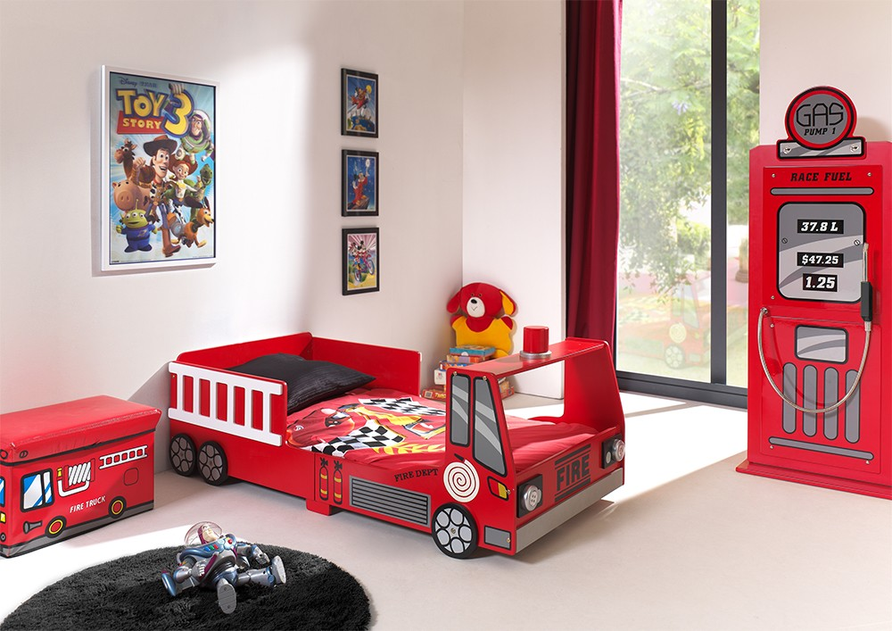 lit enfant camion de pompier2 zd1 lit car. Black Bedroom Furniture Sets. Home Design Ideas