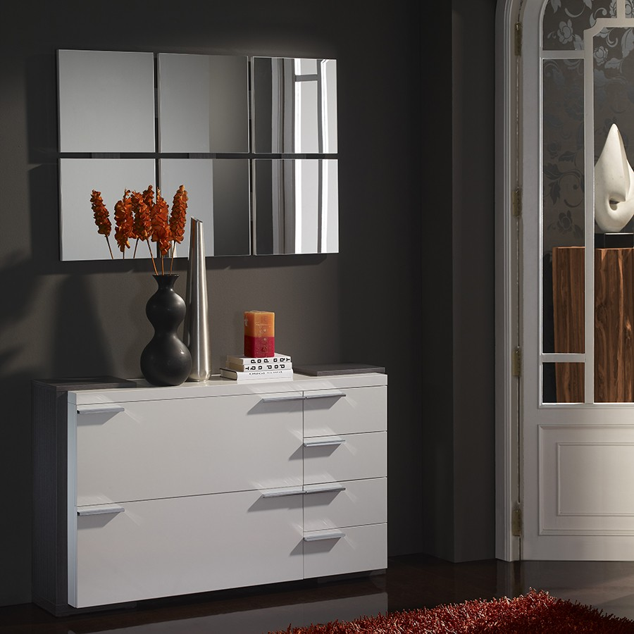 meuble d entree moderne elouan zd1 meu dentr. Black Bedroom Furniture Sets. Home Design Ideas