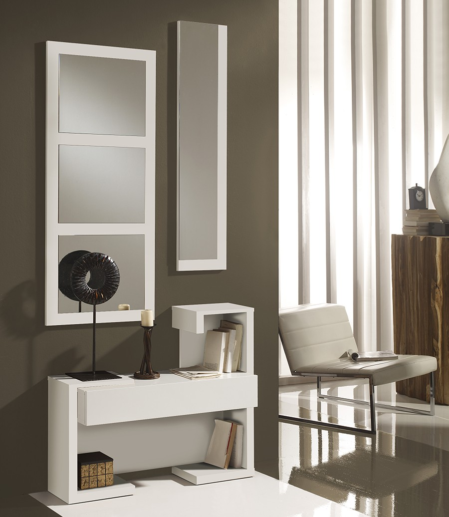 meuble d entree moderne madrid zd1 meu dentr. Black Bedroom Furniture Sets. Home Design Ideas
