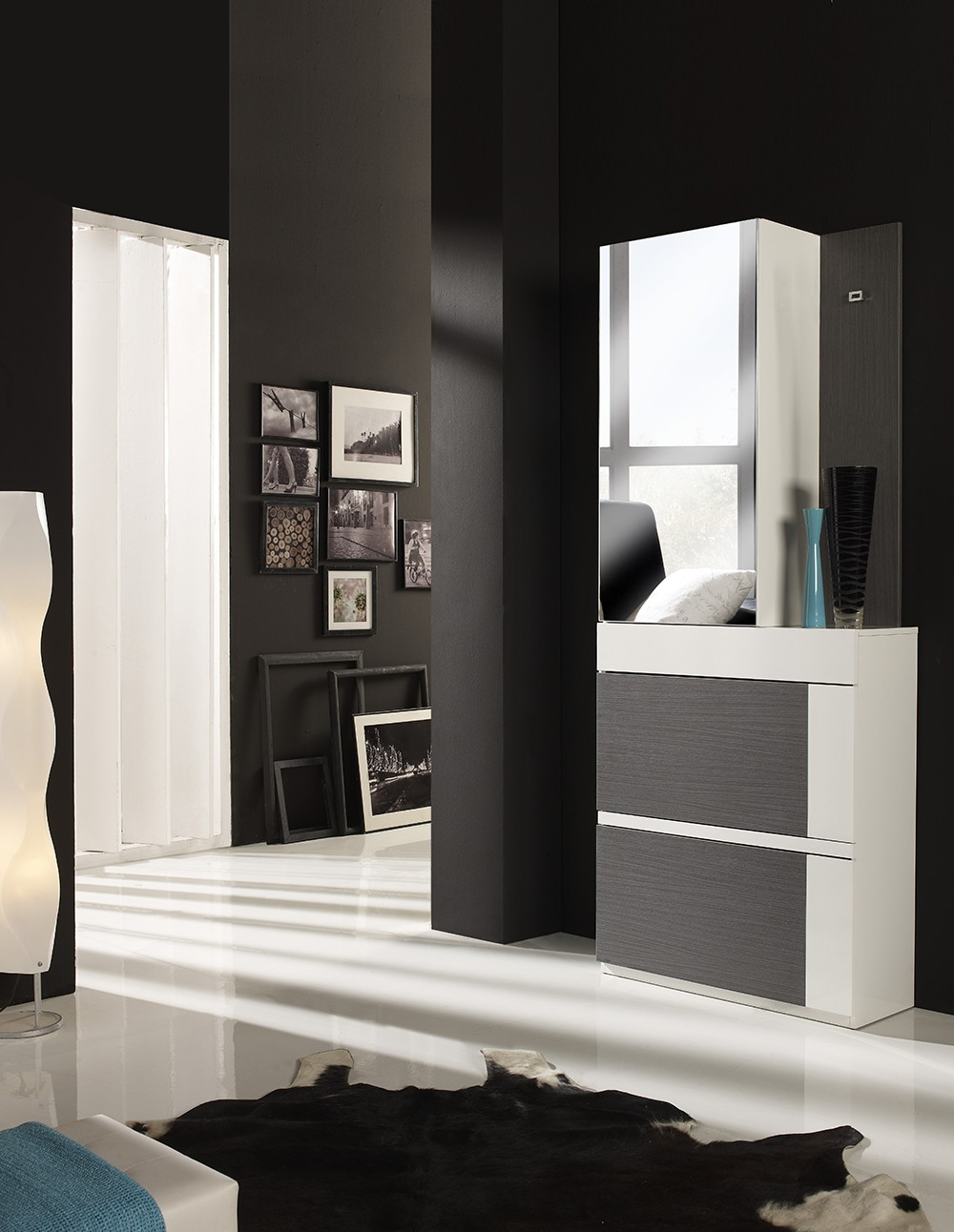 meuble chaussure hall entree. Black Bedroom Furniture Sets. Home Design Ideas