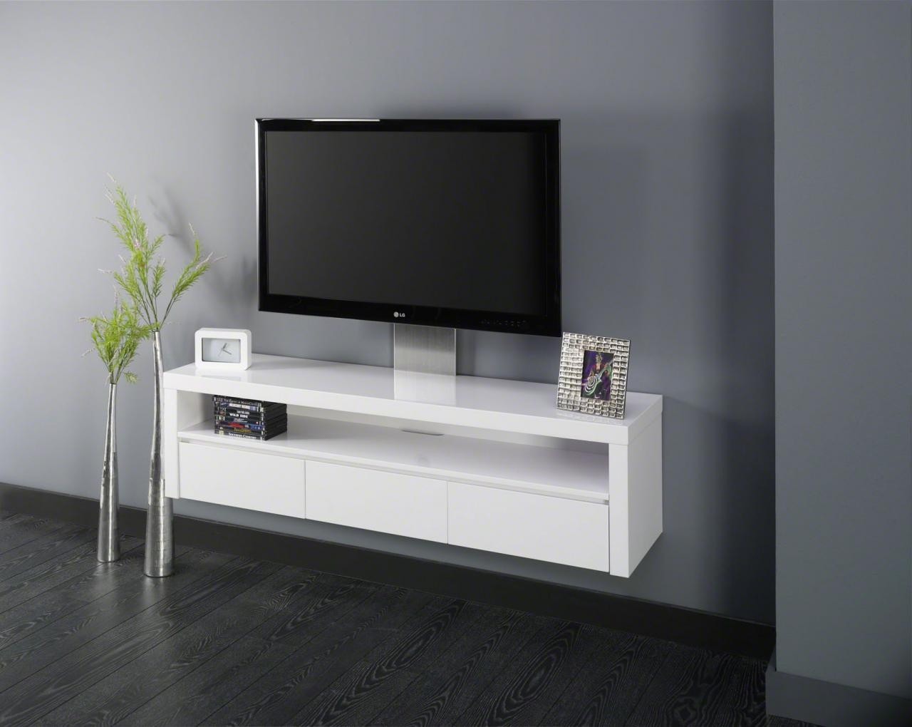 meuble suspendu pour tele. Black Bedroom Furniture Sets. Home Design Ideas