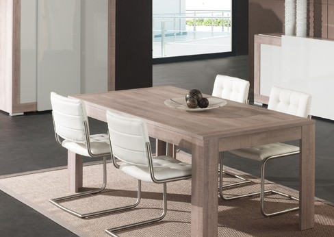 Table a manger contemporaine artys zd1 tab rc c - Table salle a manger carre ...