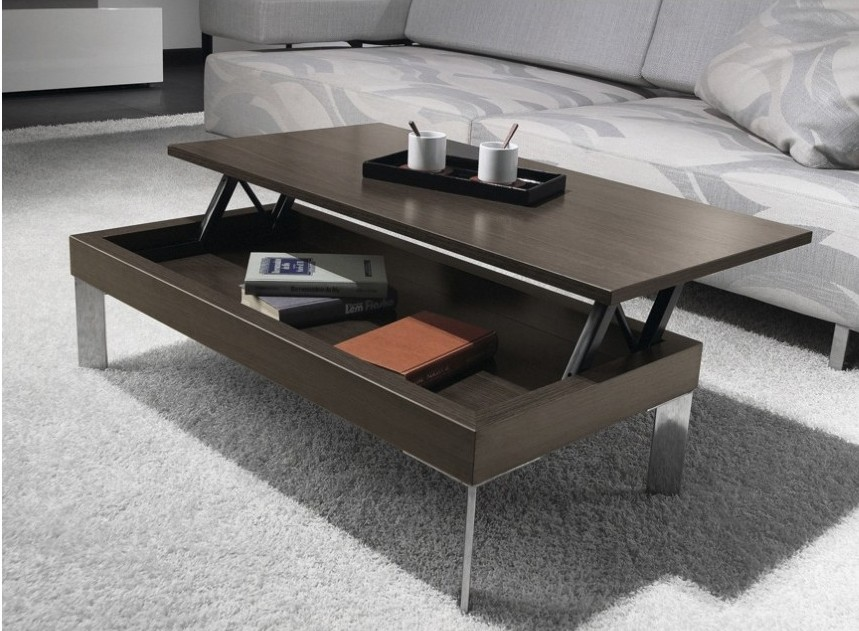 Table basse relevable apero dinatoire - Table basse relevable design ...