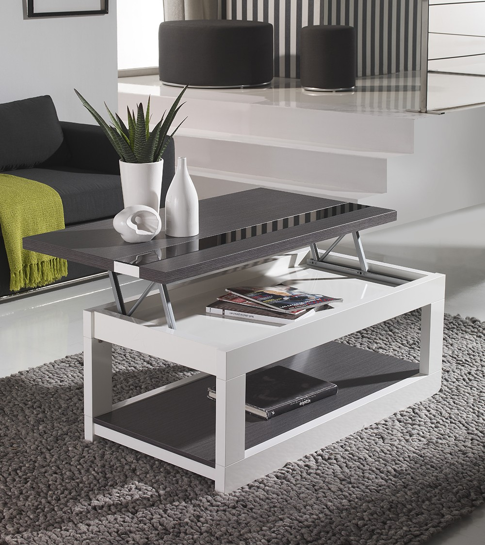 Table basse qui leve for Table qui se leve