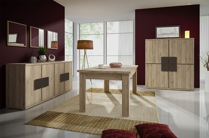 Awesome Salle Manger Laque Bi Couleur Ideas - Awesome Interior ...