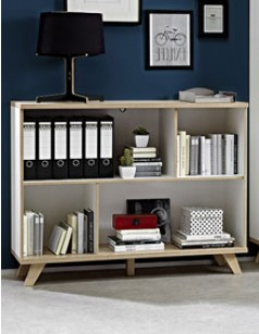 Meuble biblioth que hcommehome - Meuble bibliotheque basse ...