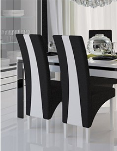 gamme de chaises en cuir de qualit pour salle manger. Black Bedroom Furniture Sets. Home Design Ideas