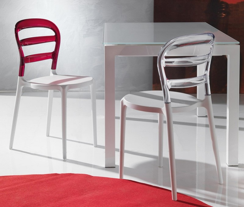 Avec le code soldes10 for Chaise design rouge salle a manger