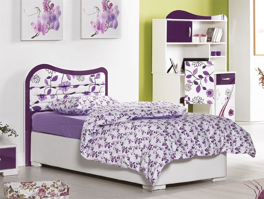 interesting chambre violet fille javascript est desactive. Black Bedroom Furniture Sets. Home Design Ideas
