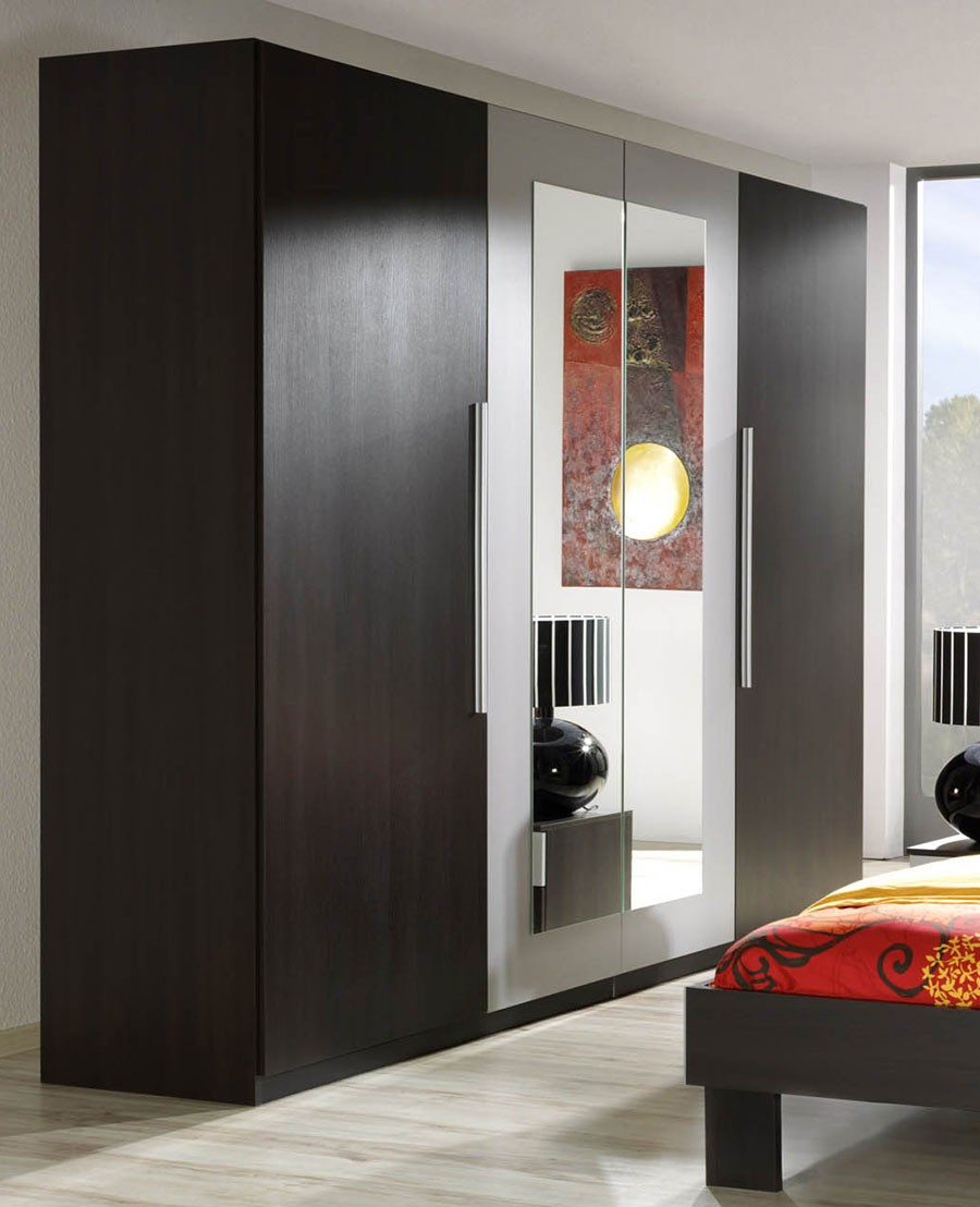 Chambre wenge et parme for Chambre adulte complete wenge