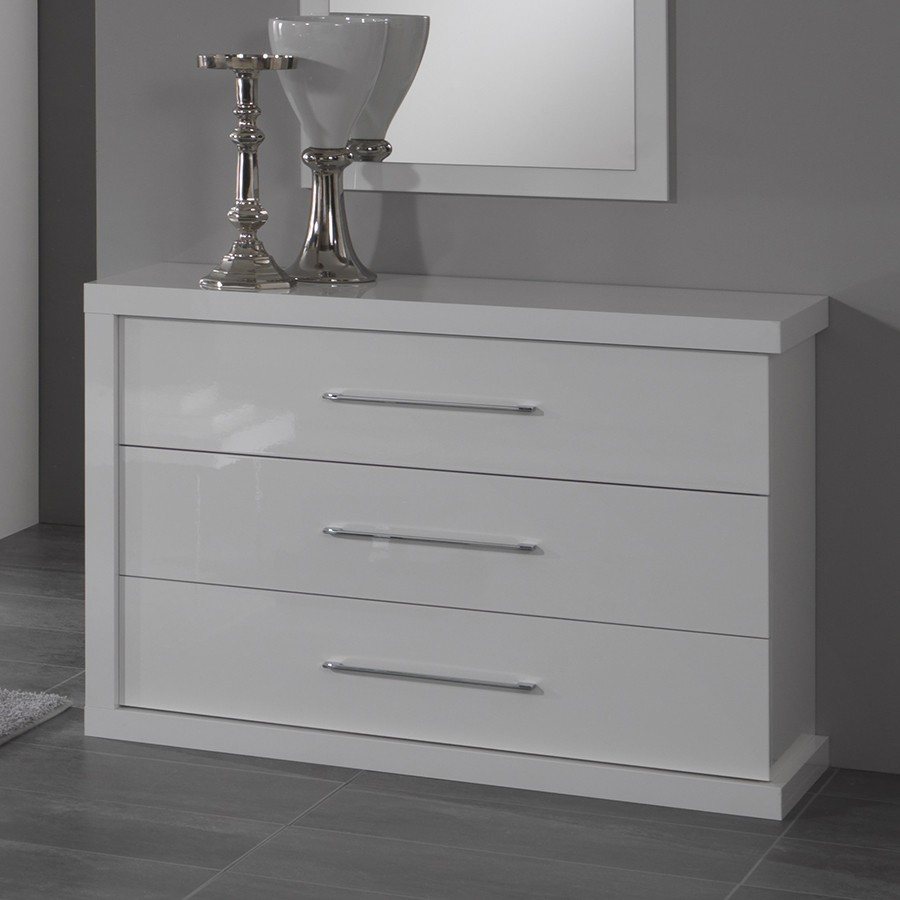 commode blanche pas cher best onda commode laqu blanc brillant with commode blanche pas cher. Black Bedroom Furniture Sets. Home Design Ideas