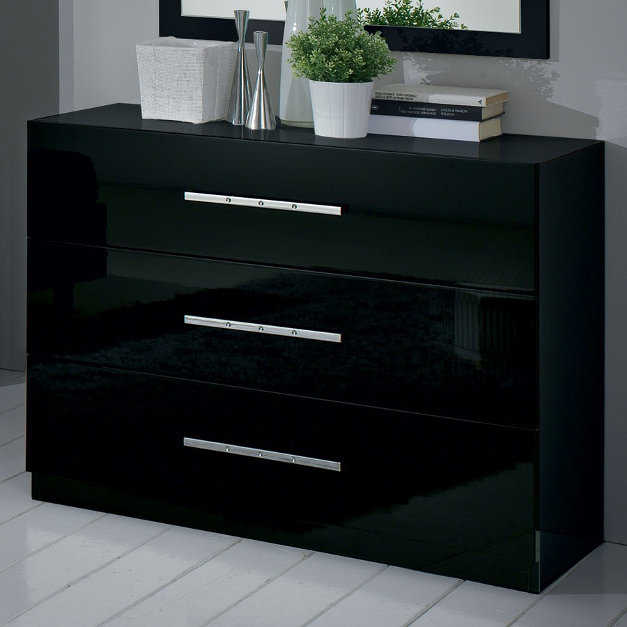 commode grise pas cher maison design. Black Bedroom Furniture Sets. Home Design Ideas