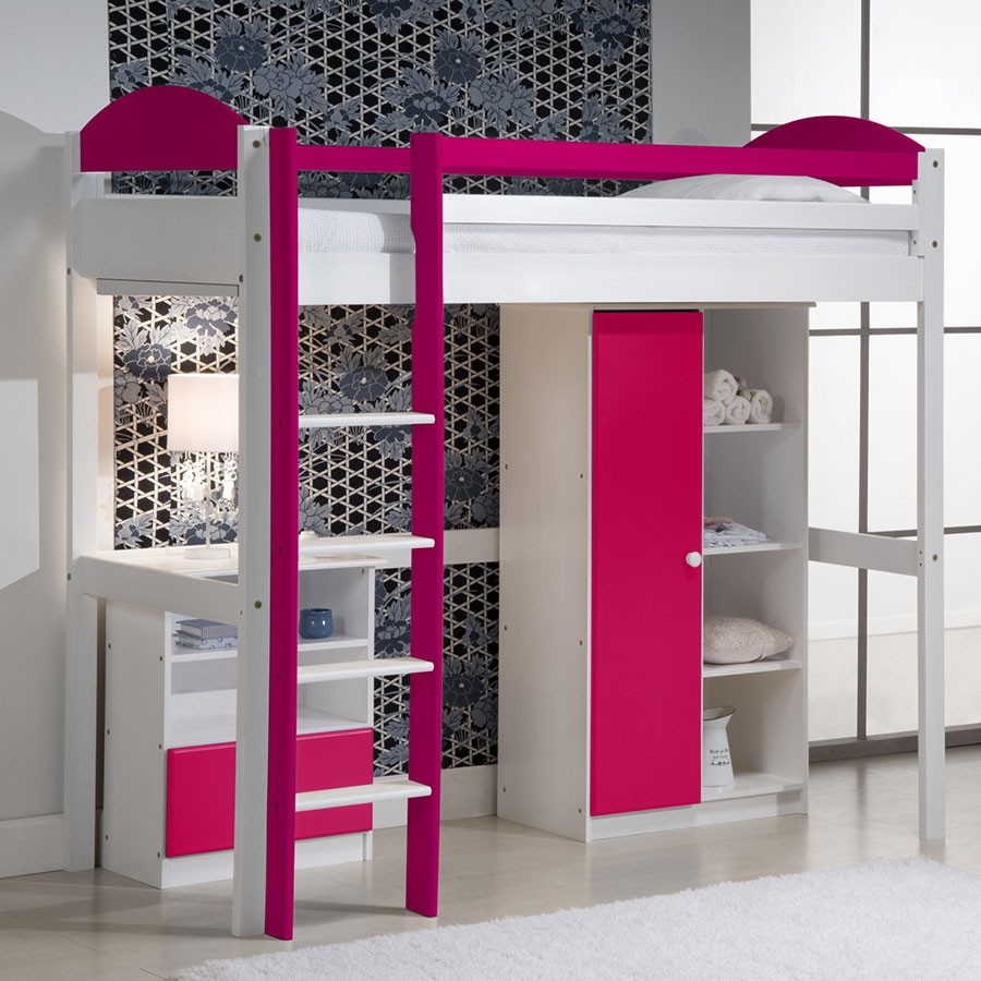 lit mezzanine fille design d 39 int rieur et id es de meubles. Black Bedroom Furniture Sets. Home Design Ideas