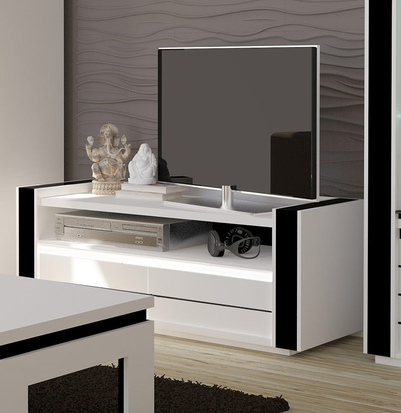 meuble blanc laqu conforama id e. Black Bedroom Furniture Sets. Home Design Ideas