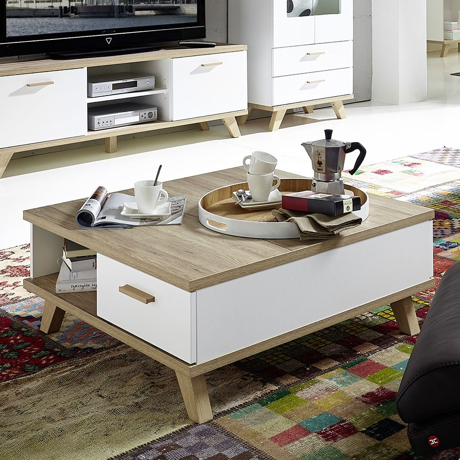 Maison du monde table basse bois flotte - Table basse bois flotte ...