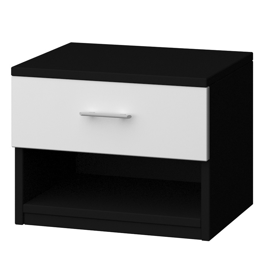 excellent table chevet noir with ikea chevet blanc - Ikea Table De Nuit