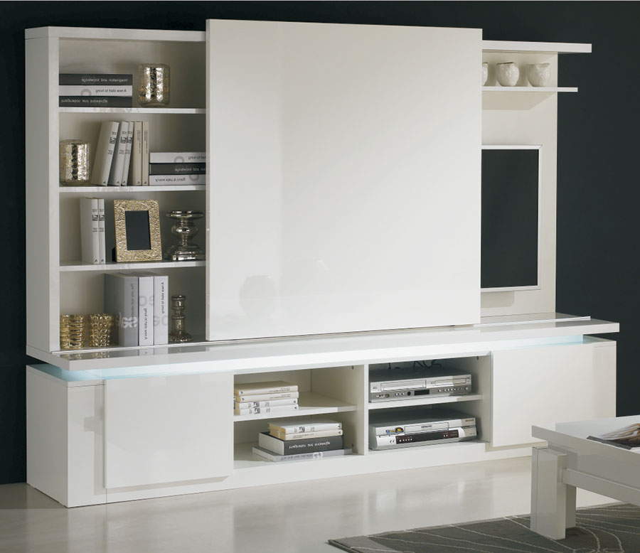 Ensemble meuble tv design ensemble meuble tv on pinterest for Meuble chambre solde