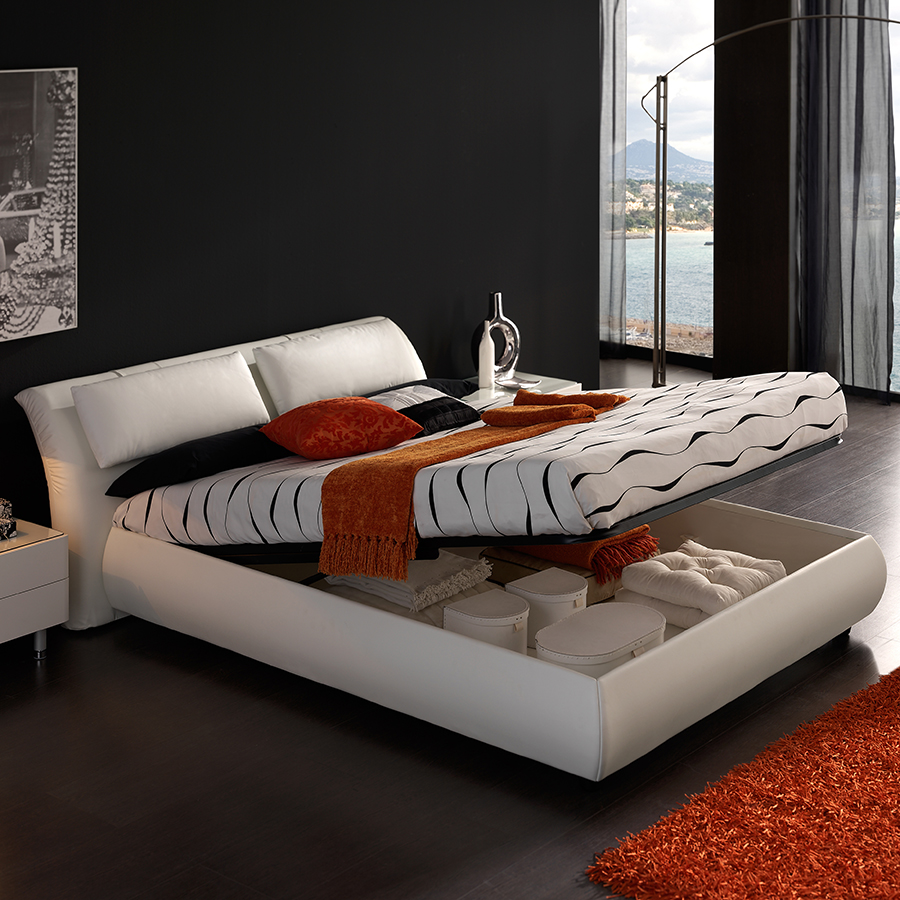 prix des lit coffre 3. Black Bedroom Furniture Sets. Home Design Ideas