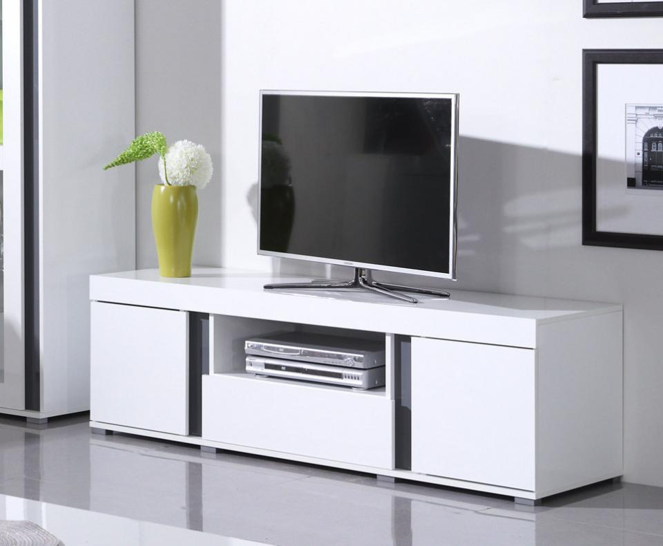 banc tv design laque blanc madere solutions pour la d coration int rieure de votre maison. Black Bedroom Furniture Sets. Home Design Ideas