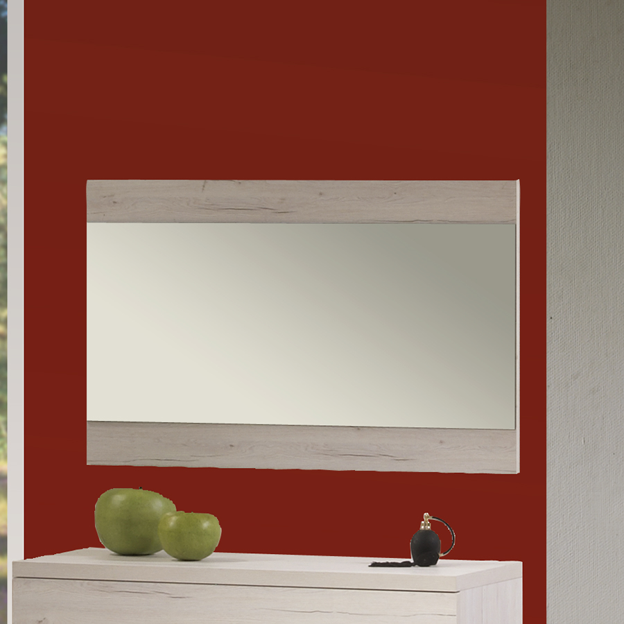 Miroir rectangulaire mural contemporain namur coloris for Miroir 1 metre