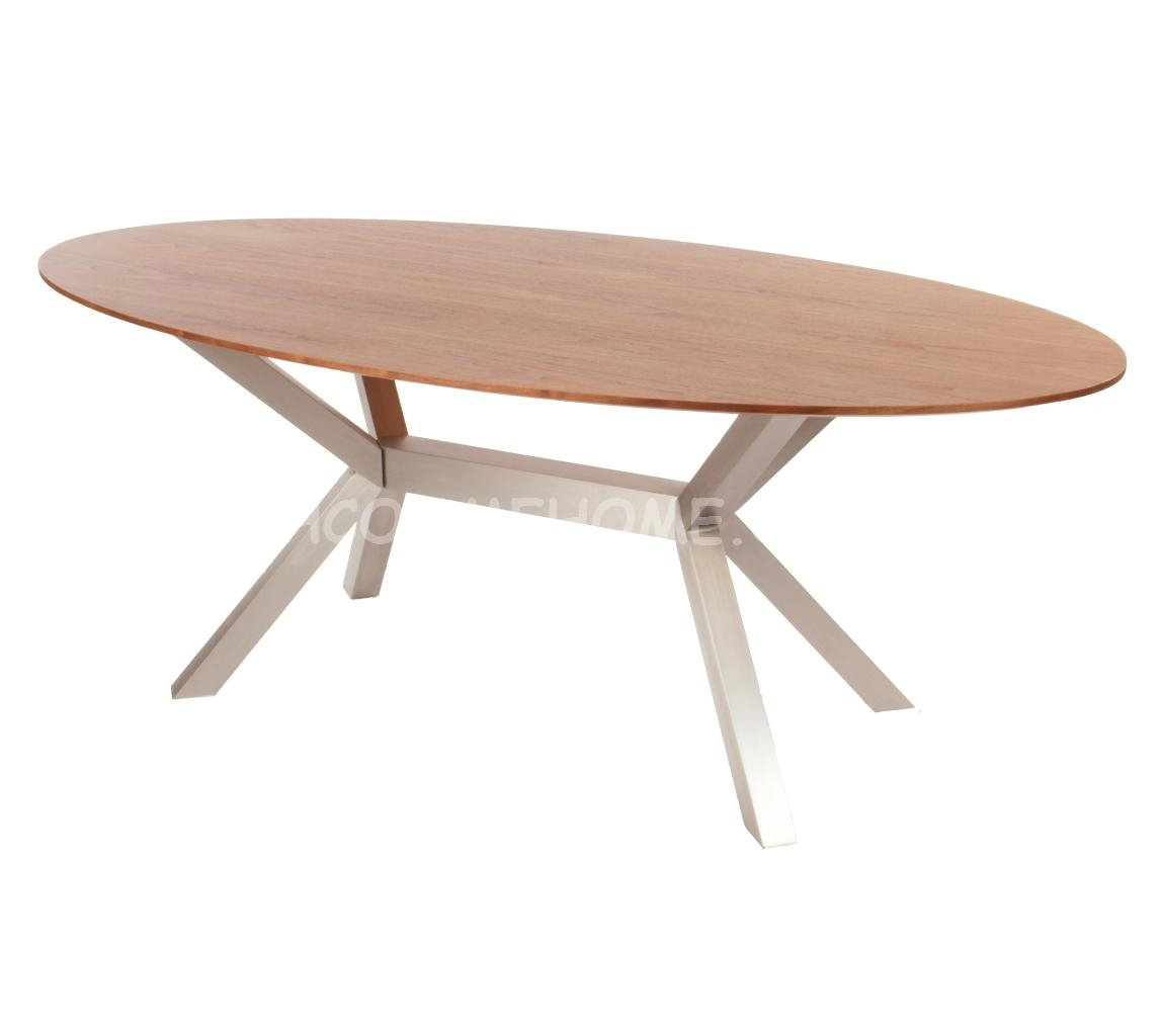 Table a manger ovale ikea d coration table a manger for Salle a manger moderne avec table ovale