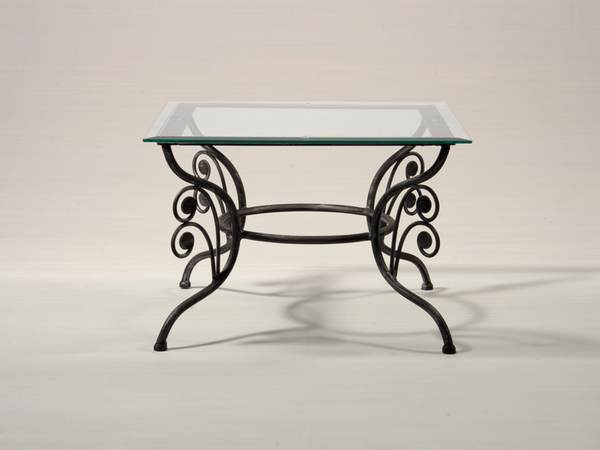 Table guide d 39 achat - Table d appoint fer forge ...